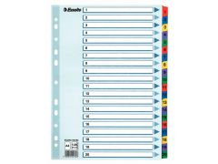 Index Luxe Mular A4 1-20 Gekl.