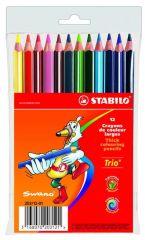 Stabilo Trio Kleurpotlood Pl 12Stuks
