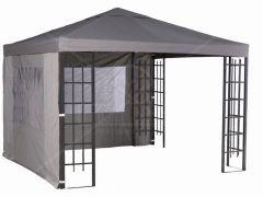 Set van 2 zijwanden voor Paviljoen Alupromo grijs