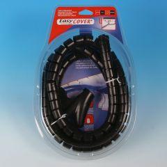 Kabelhoes 25mm 2m zwart