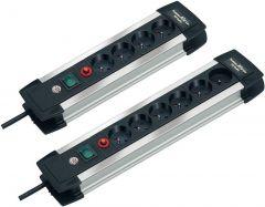 Premium-Alu-Line Met 4 Stopc. 1.8M Kabel