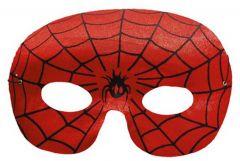 Loup Rood Spinneweb Zwart