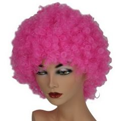 Pruik Hair Roze