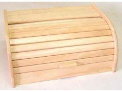 Broodtrommel 40X28X18Cm Rubberwood