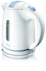 Philips waterkoker wit/blauw