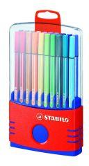 Stabilo Point Pen 68 Color Parade 20St