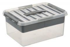 Q-Line/Multibox 15 L Transp/Metaal
