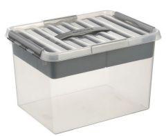 Q-Line/Multibox 22 L Transp/Metaal