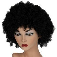 Pruik Hair Zwart