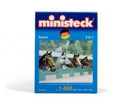 Ministeck 4 in 1 mozaïek ranch 1400 stukken