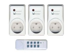 3 Stopcontacten met afstandsbediening