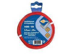 VOB 2,5 mm² 25m rood
