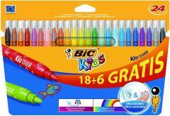 Bic Kids Couleur 18+6St