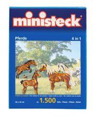 Ministeck paarden 4in1 1500 stuks