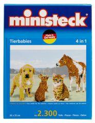 Ministeck dierenbabies 4in1 2300 stuks