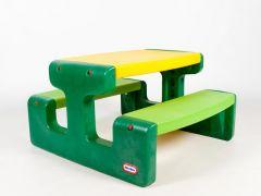 Little Tikes Larg Picnic Table Evergreen