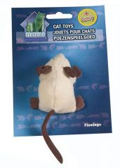 Pluche muis kruipend +catnip