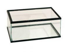 Volglas schildp.Bak 50x30x18 zwart