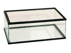 Volglas schildp.Bak 60x35x20 zwart