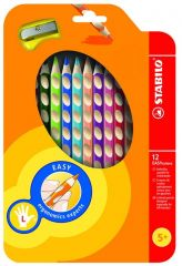Stabilo Easy Colors Left 12St