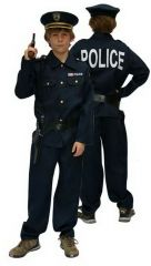 Kostuum Politie + Kepie + 2Acc 116