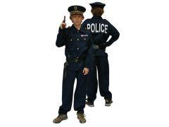 Kostuum Politie + Kepie + 2Acc 164