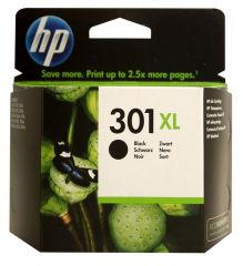 Hp Inkcartridge Nr 301 Black Xl 8Ml