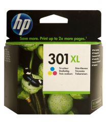 Hp Inkcartridge Nr 301 3-Color Xl 8Ml
