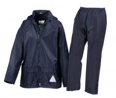 R95J Bad Weather Ensemble Kids Blauw Xs