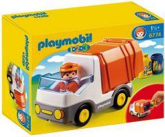 Playmobil 1.2.3 6774 Vuilniswagen