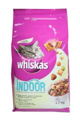 Whiskas dry indoor gevogelte 1.7Kg