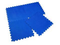 Sun Ta Eva Vloermatten S/4 60X60Cm Blue