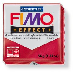 Fimosoft Metalic Rood