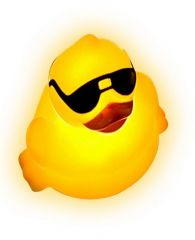 Floatin Light Up Derby Duck