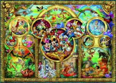 P 500 Famous Disney Characters