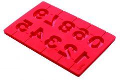 Lekue Lollipop Numbers 3D Red 0210410R01