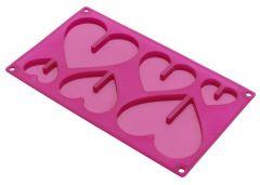 Lekue Hearts 3D Pink 0212300R15