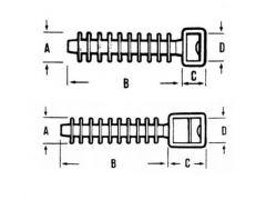 Enkel Voetstuk Met Plug ( 100 )