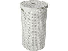 Curver Style Round Wasbox 48Lit Vintage Wit