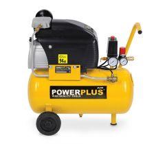 Power Plus Powx1735 Compressor 1500W 2Pk 24L Olie