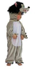 Kostuum Plush Wolf 128