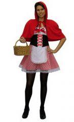 Kostuum Roodkapje 40