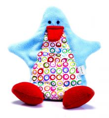 Simply Good Ducky Duck Pattern Blue/Smallcircles/Red