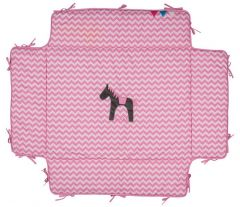 Jumper Parkkuip Zigzag Pink