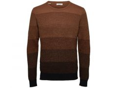 Selected 1907 Slhdavid Gradient Crew Neck W