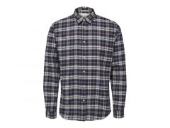Selected 1907 Slhslimharry Shirt Ls Check W