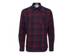 Selected 1908 Slhslimned-Jay Shirt Ls Check W
