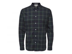Selected 1908 Slhslimwood Shirt Ls Check W