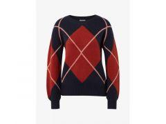 Tom Tailor Dames 1909 Sweater Argyl