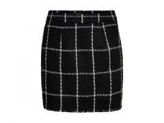Only 1909 Onldare  Check Mini  Skirt Pnt